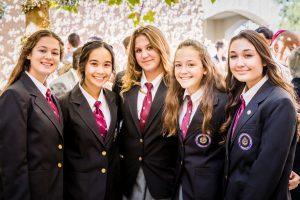 Saint Jeanne de Lestonnac Catholic School students