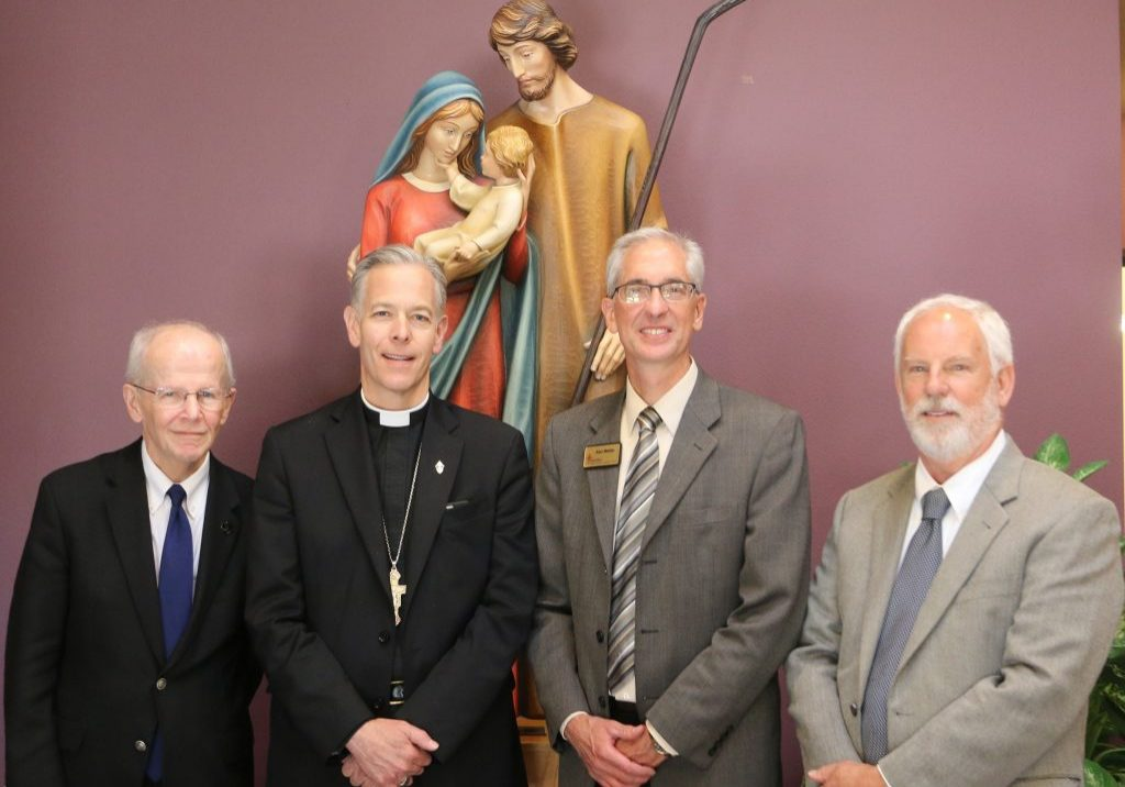 Alan Meitler and Rick Pendergast with the Archdiocese of Portland
